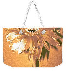 Captain And Coke Zinnia Weekender Tote Bag by Sherry Allen