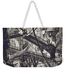 Carceri Vii Weekender Tote Bag by Giovanni Battista Piranesi