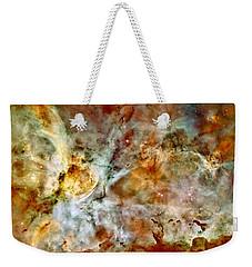 Carina Nebula Panorama Weekender Tote Bag by Benjamin Yeager