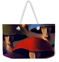 Carnaval Weekender Tote Bag by Mona Edulesco