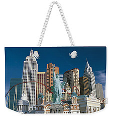 Casino Las Vegas Nv Weekender Tote Bag by Panoramic Images