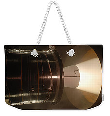 Weekender Tote Bag featuring the photograph Castor 30 Rocket Motor by Science Source
