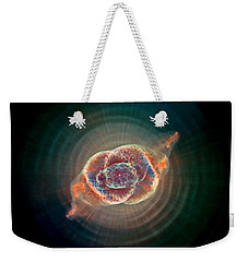 Cats Eye Nebula Weekender Tote Bag by Benjamin Yeager
