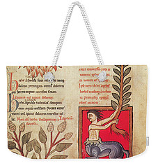 Centaur, Legendary Creatures Weekender Tote Bag by Photo Researchers