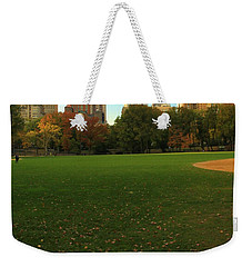 Central Park In Autumn Weekender Tote Bag by Dan Sproul