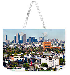 Century City, Beverly Hills, Wilshire Weekender Tote Bag by Panoramic Images