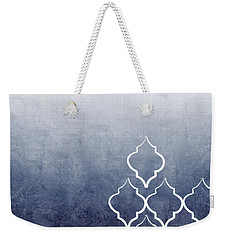 Chambray Ombre Weekender Tote Bag by Linda Woods
