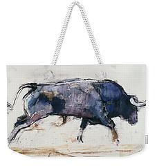 Charging Bull Weekender Tote Bag by Mark Adlington