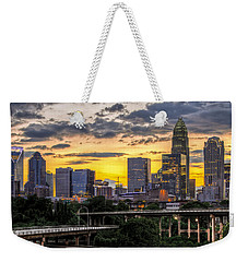 Charlotte Dusk Weekender Tote Bag by Chris Austin