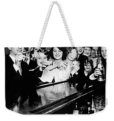 Cheers To You Weekender Tote Bag by Jon Neidert