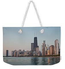 Chicago Morning Weekender Tote Bag by Steve Gadomski