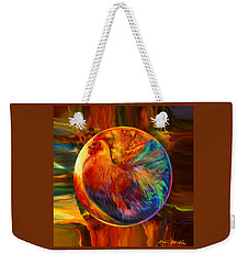 Chicken In The Round Weekender Tote Bag by Robin Moline