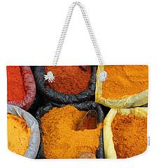 Chilli Powders 3 Weekender Tote Bag by James Brunker