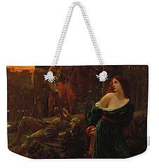 Chivalry Weekender Tote Bag by Sir Frank Dicksee