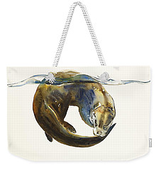 Circle Of Life Weekender Tote Bag by Mark Adlington