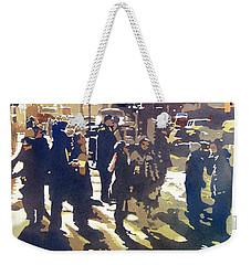 City Light Weekender Tote Bag by Kris Parins