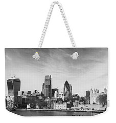 City Of London  Weekender Tote Bag by Pixel Chimp