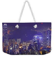 City Of Magic Weekender Tote Bag by Midori Chan