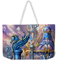 City Of Swords Weekender Tote Bag by Ciro Marchetti
