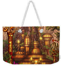 City Of Wands Weekender Tote Bag by Ciro Marchetti