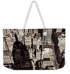 City Shadow Weekender Tote Bag by Dave Bowman