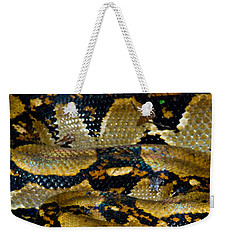 Close-up Of A Boa Constrictor, Arenal Weekender Tote Bag by Panoramic Images