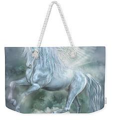 Cloud Dancer Weekender Tote Bag by Carol Cavalaris