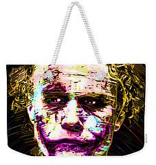 Clown With Zero Empathy Weekender Tote Bag by Daniel Janda