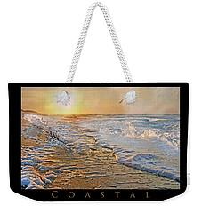 Coastal Paradise Weekender Tote Bag by Betsy Knapp