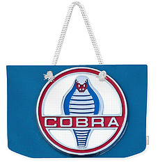 Cobra Emblem Weekender Tote Bag by Jill Reger