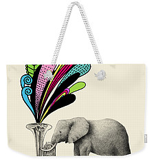Color Burst Weekender Tote Bag by Eric Fan