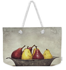 Color Does Not Matter Weekender Tote Bag by Priska Wettstein