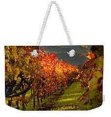 Color On The Vine Weekender Tote Bag by Bill Gallagher