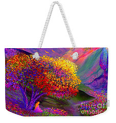 Colorful Enchantment Weekender Tote Bag by Jane Small