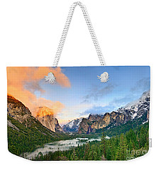 Colors Of Yosemite Weekender Tote Bag by Jamie Pham