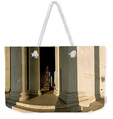 Columns Of A Memorial, Jefferson Weekender Tote Bag by Panoramic Images