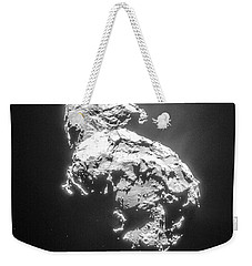 Weekender Tote Bag featuring the photograph Comet 67pchuryumov-gerasimenko by Science Source