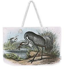 Common Crane Weekender Tote Bag by English School