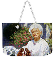 Companions In The Garden Weekender Tote Bag by Candace Lovely