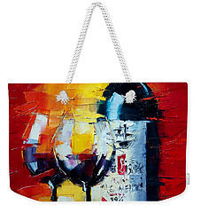 Conviviality Weekender Tote Bag by Mona Edulesco