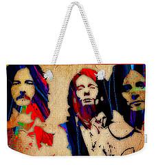 Cream Eric Clapton Jack Bruce Ginger Baker Weekender Tote Bag by Marvin Blaine