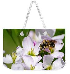 Cuckoo Flowers Weekender Tote Bag by Christina Rollo
