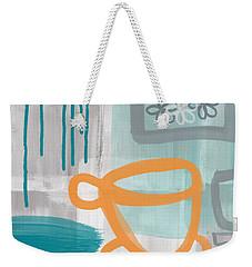 Cup Of Happiness Weekender Tote Bag by Linda Woods