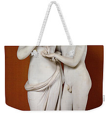 Cupid And Psyche Weekender Tote Bag by Antonio Canova
