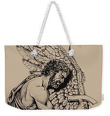 Daedalus Workshop Weekender Tote Bag by Derrick Higgins