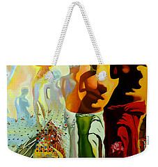 Dali Oil Painting Reproduction - The Hallucinogenic Toreador Weekender Tote Bag by Mona Edulesco