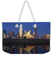 Dallas Twilight Weekender Tote Bag by Rick Berk