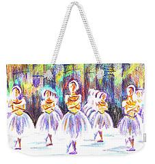 Dancers In The Forest II Weekender Tote Bag by Kip DeVore