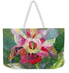 Dancing Orchid II Weekender Tote Bag by Shadia Derbyshire