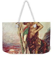 Dead Poet Borne By Centaur Weekender Tote Bag by Gustave Moreau